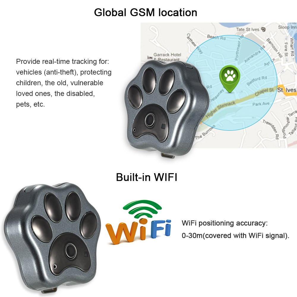 V Waterproof Ip G Wcdma Best Buy Gps Tracker Pet Without Sim Card For Cats Dog