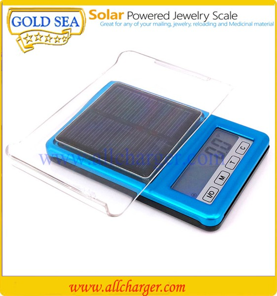 Professional electronic mini digital portable solar scale rechargeable scales