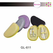 Colorful professional glitter manicure pedicure set nail supplies