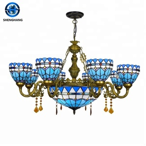 Wedding decoration ceiling/hanging/pandent/chandelier lamps light, handmade glass lamp