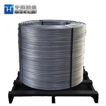 Calcium Silicon Ferro/Fe Si Ca cored wire/ Ferro Silicon Alloy Deoxidizer