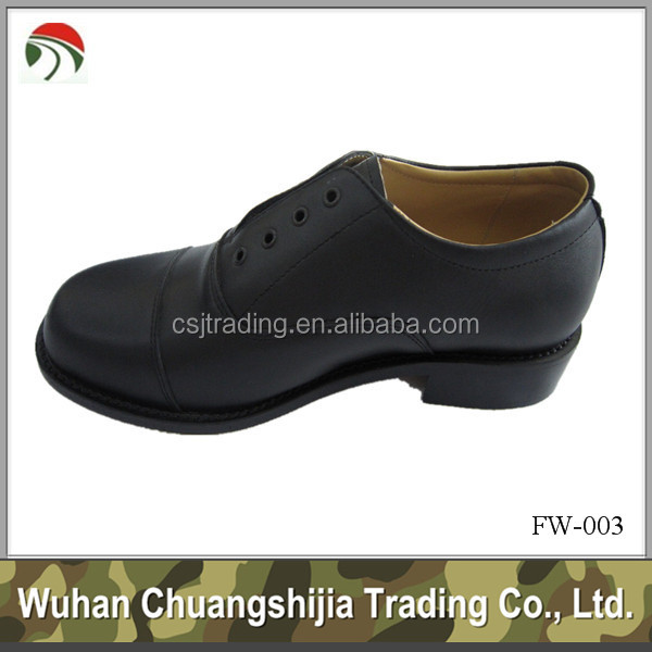 High police quality shoes leather officer simple design 7q0nqwptOr