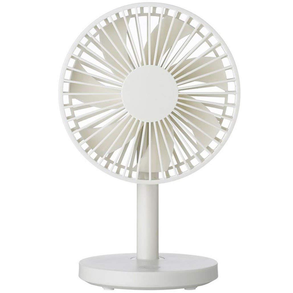 Mini Usb Fan,AmaMary88 1 Pcs Protable Simple Desktop Fan USB Mini Electric Fan Table Fan 3-Speed Wind Adjustable Great for Office Computer Desk (White)