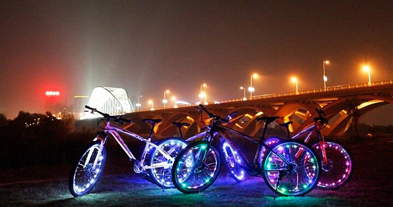 12 x Green reflective Bike Bicycle Cycling Spoke Wheel Reflector Safety