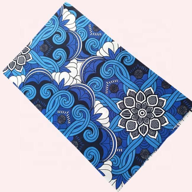 african kitenge java wax design fabric