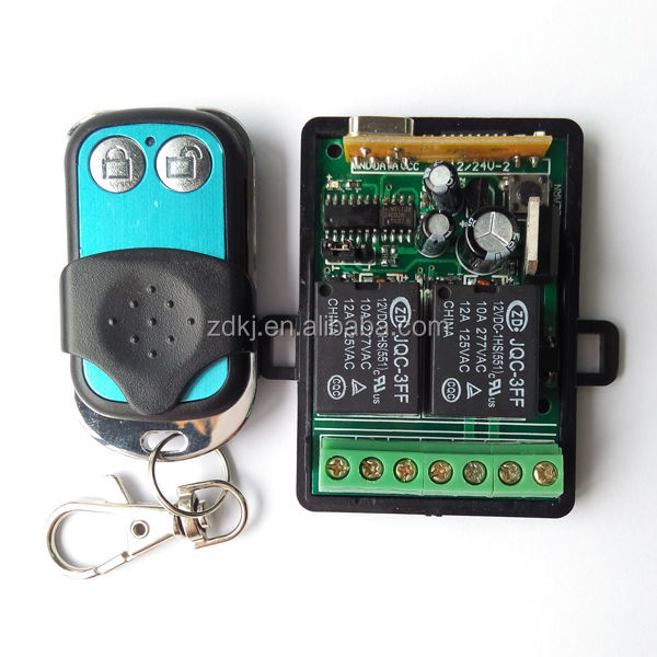 China supplier remote control 1channel on/off rf transmitter and receiver module