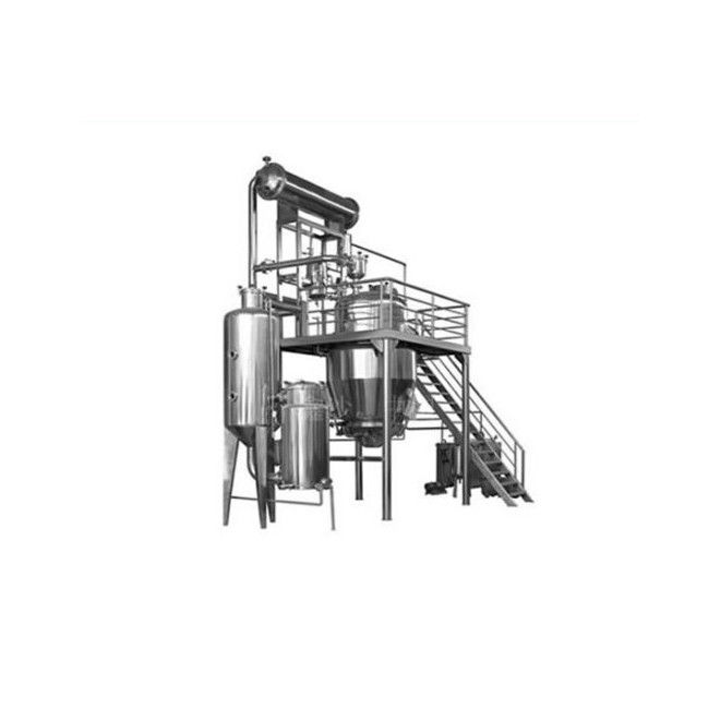 SS Herbal Extraction Equipment Supercritical Fluid Molecular Vacuum Solvent Distillation