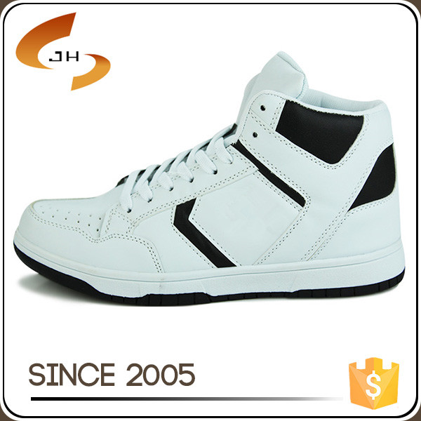 2016 china manufacturer wholesale pu leather high neck casual sport shoes for men