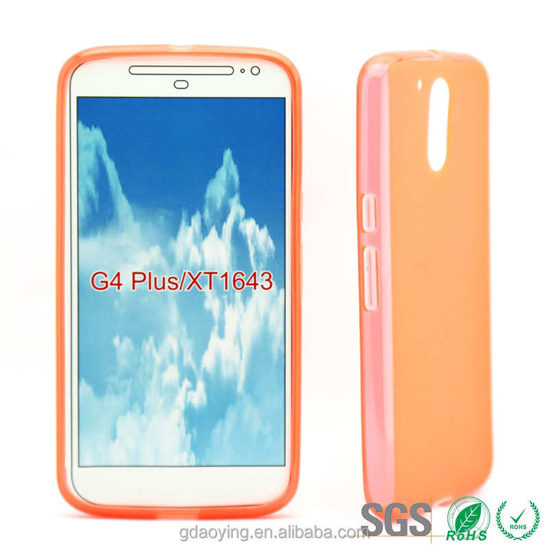 Soft tpu case for motorola moto g4 plus gel pudding tpu case for moto g4
