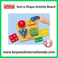 Sort-a-Shape Activity Board