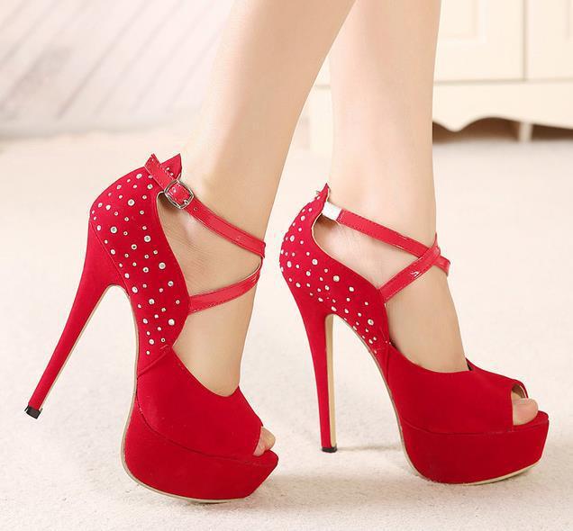 High Heel Sandals Tsaa Heel