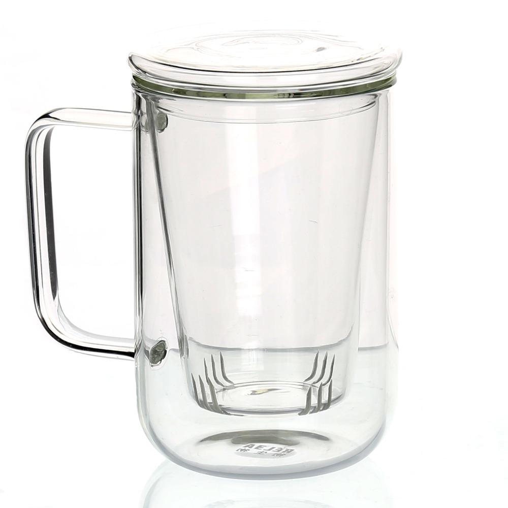 b ro glas teetassen becher mit glas sieb filter ei und deckel aus edelstahl zum verkauf. Black Bedroom Furniture Sets. Home Design Ideas