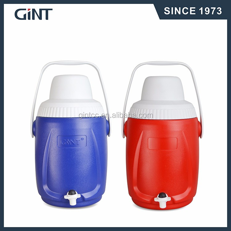5L portable cooler box for beverage and food in different colors with Holder, Customer Logo Acceptable