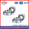 Single Row Steel Cage Inch Taper Roller Bearing 30310 for Textile Machinery