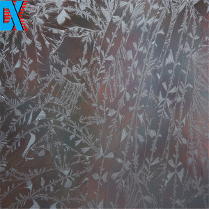 safety art decoration clear ceramic glass fence panels