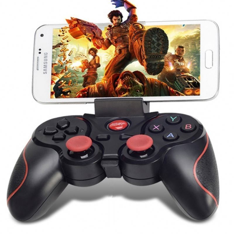 2018 Hot Sale Bt3.0 Gamepad Terios T3 Remote untuk Android untuk I-OS PC Laptop Wireless Bt Controller Joystick
