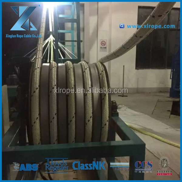 Tug line in the commercial marine industry usd 12 Strand uhmwpe rope manufacturer