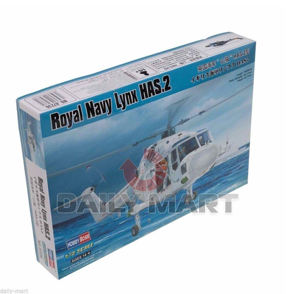 HobbyBoss 1/72 87236 Royal Navy Westland Lynx HAS.2 Model Kit Hobby Boss /ITEM#G839GJ UY-W8EHF3127295