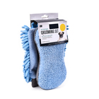 2 pcs Set Microfiber Pet Dog Grooming Set With Towel Dog Cleaning