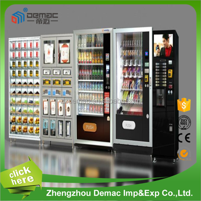 Soft ice cream vending machine/ frozen vending machine/ drink and coffee vending machine