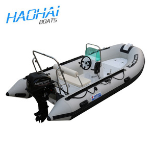11.8ft 360cm RIB fiberglass inflatable boat used for outboard motor