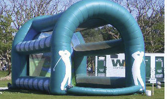 Inflatable Golf Tee Up Sports games