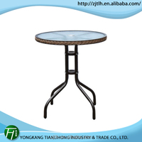 Welcome OEM order glass table(TLH-087)