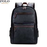 VICUNA POLO 2017 New Arrival Computer Bags Men's Casual Daypacks Blue Laptop Backpacks Trendy Casual Backpack V5503