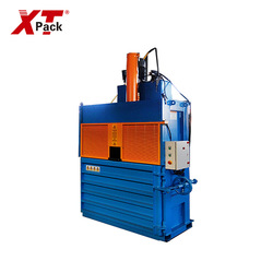 PET bottle plastic film Hydraulic Vertical Baler for waste paper