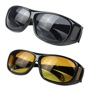 Sun Glasses Driving Glasses Night Vision,Night Vision Yellow Lens Glasses