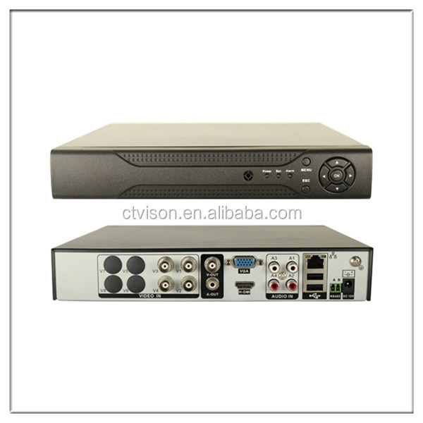 H.264 Recording Network CCTV Security Surveillance Video Recorder System high resolution 4k dvr good quality