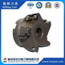 High Speed Tungsten Carbide Indexable End Cutter Carbide Milling