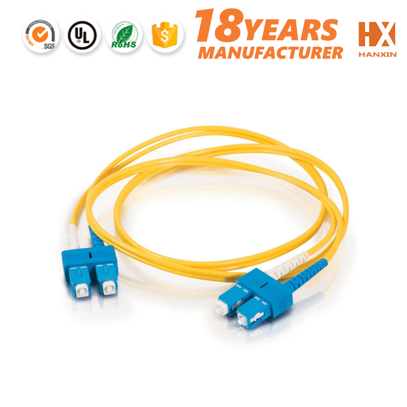 hot products PVC/LSZH UPC/APC fiber optic cable patch cord 300 meter