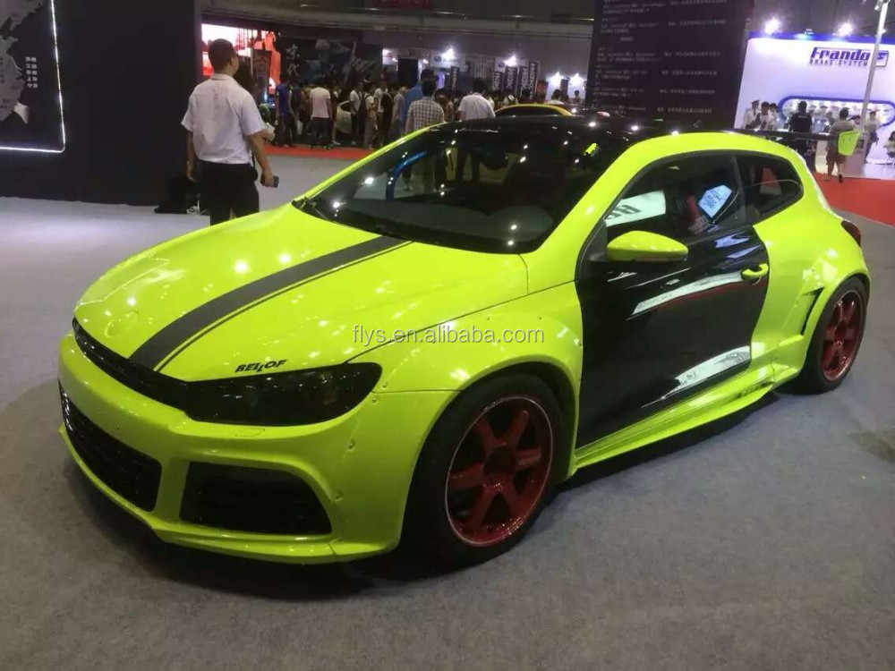 upgrade kit wide body kit for scirocco scirocco r bumper. Black Bedroom Furniture Sets. Home Design Ideas