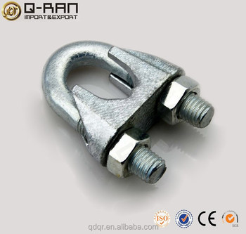 Adjustable U Bolt Clamp Din 741 Wire Rope Clips Wire Rope Clamp ...