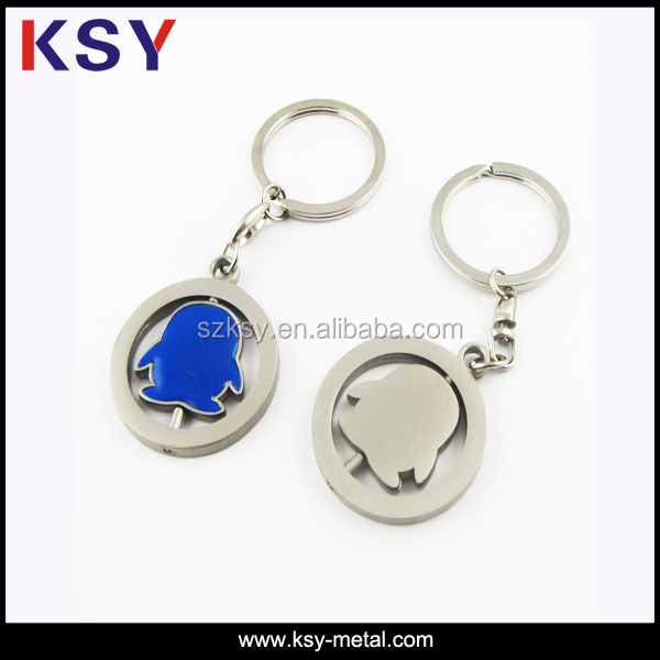 hot sell custom metal keychain