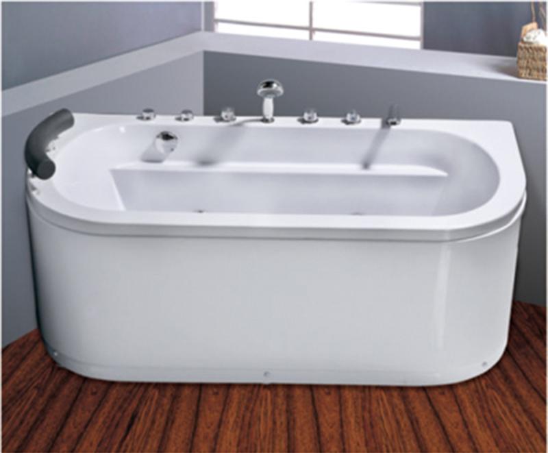 cheap bathtub whirlpool massage bathtub price with different sizes