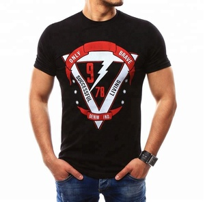 Hot Sale Manufacture Custom Made T-shirt Eco-friendly Breathable Men Shirt