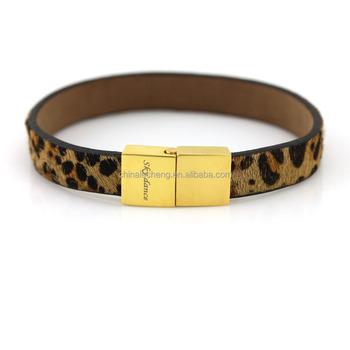 2017 New Design Fashional Cool Bracelets Make Your Own Brand Name Bracelet Logo