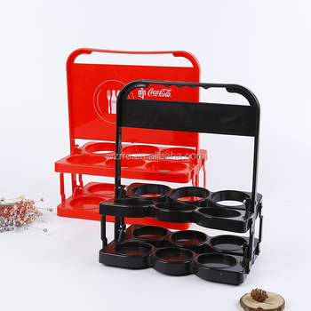 plastic 6 pack wine bottle holder