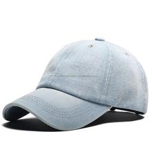 89323b1d014e70 custom top quality 6 panel plain denim blank washed baseball hat and cap  golf caps design