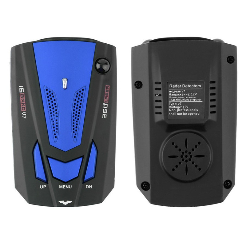 Car radar detector multi language early warning conqueror avoiding fine laser anti radar detector