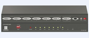 Shenzhen DVI 4-IN-1OUT/6-IN-1-OUT Switcher support 1080p, 1920x1200