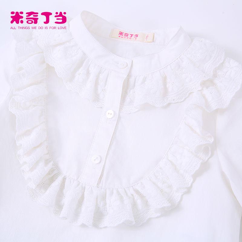 dc31b440a25 Guangzhou vêtements pour enfants robe pour fille 2 pièces chemise blanche  et jupe en dentelle à