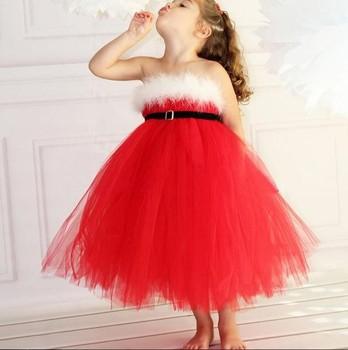 4906de7d3 Girl Red Birthday Party Dresses Kids Christmas Dress - Buy Christmas ...