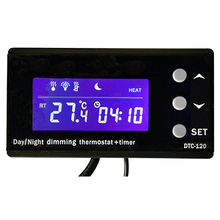 Dimming Day Night Aquarium Reptile Thermostat and Timer (DTC-120)