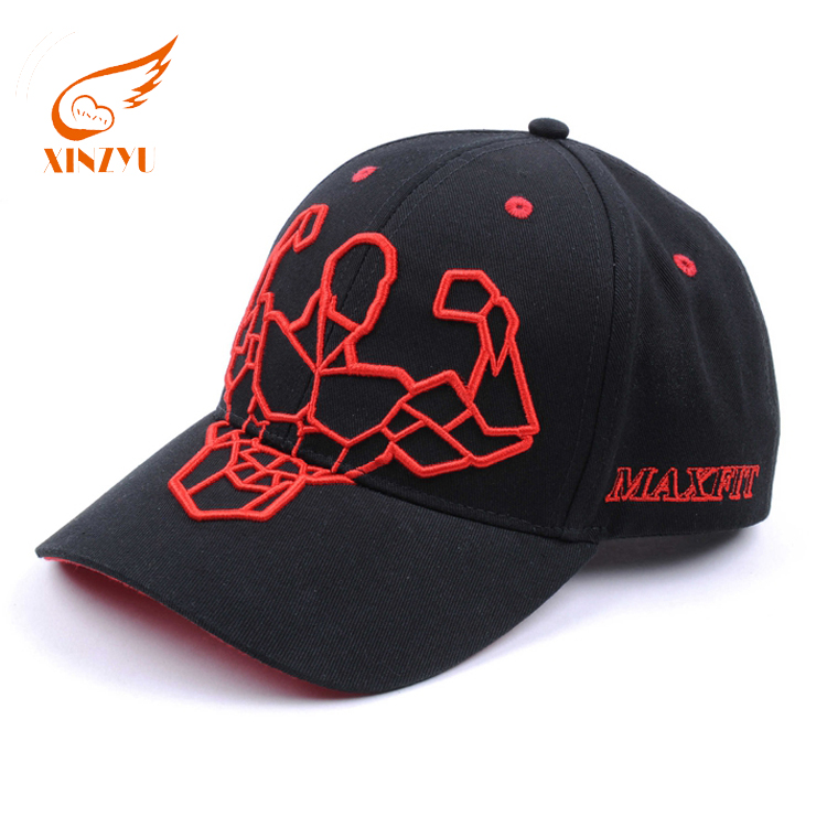Unique Design High Quality Baseball Caps Cotton Fashion Stylish 3D Embroidery Baseball Cap