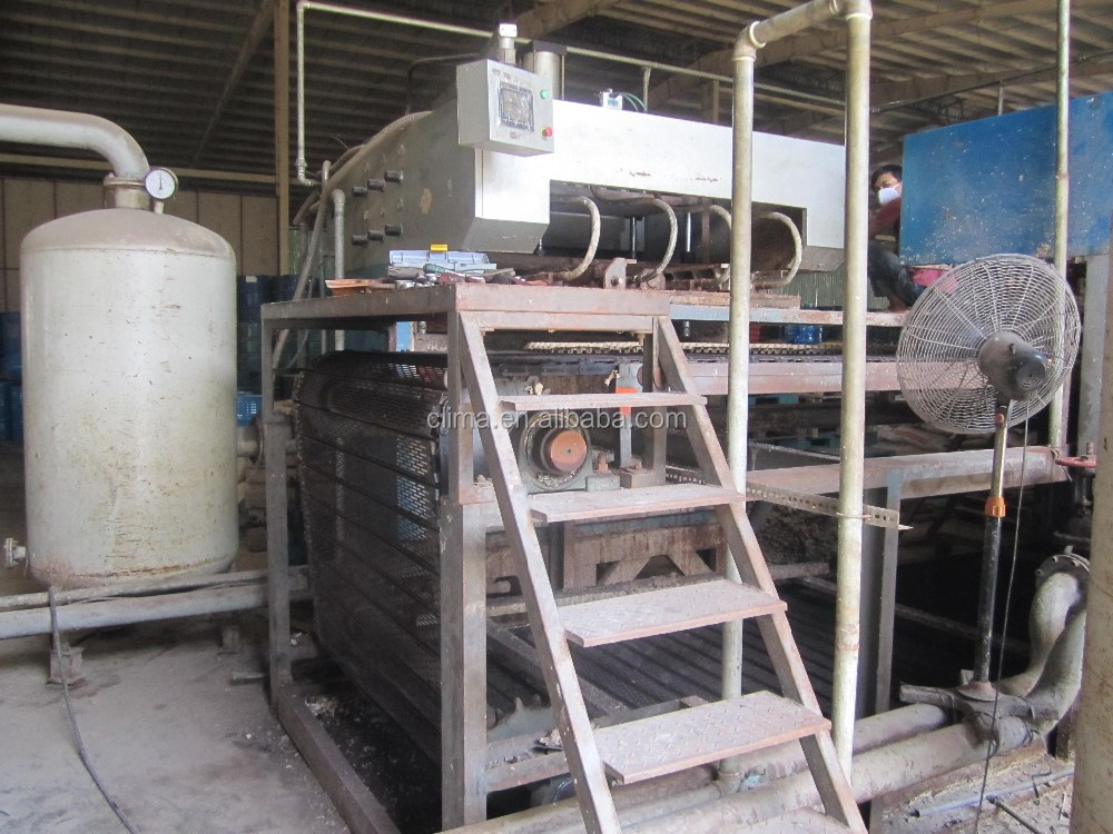 pulp egg tray moulding machine