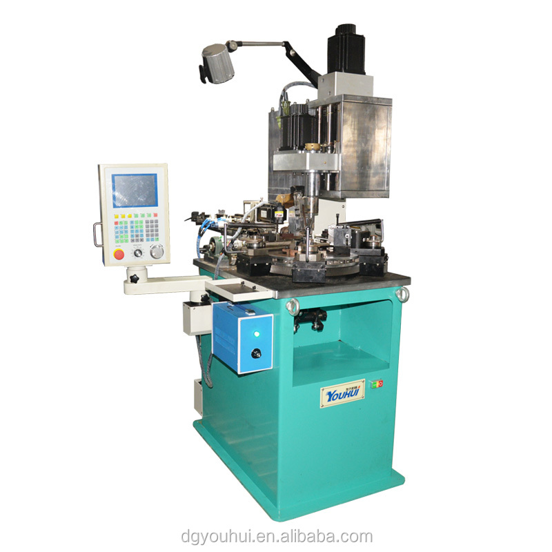 CNC Automatic Multi Axis Bobbinless Coil Winding Machine