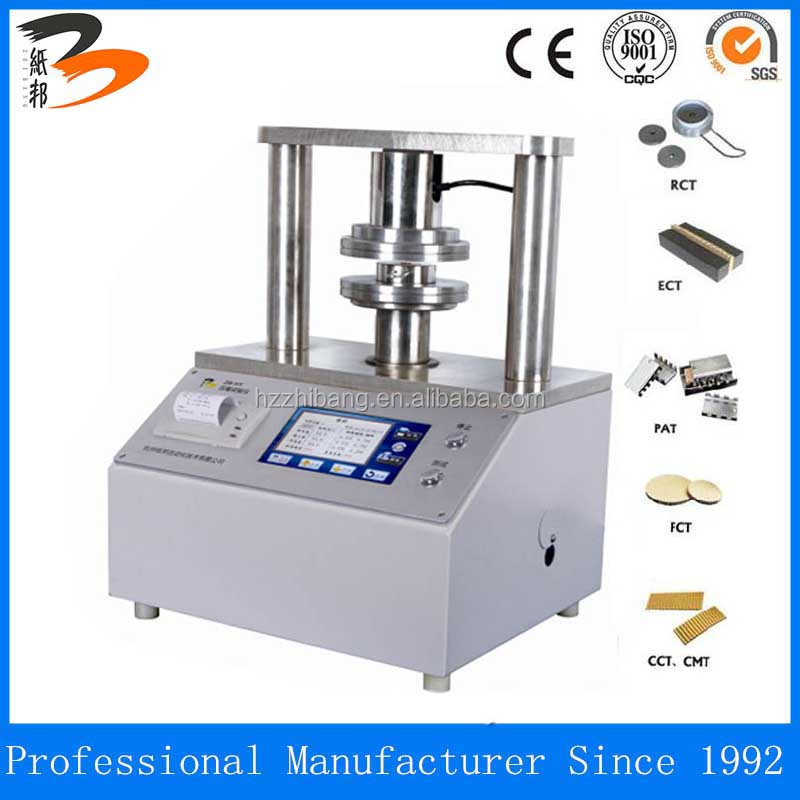 ZB-HY3000 Touch -Screen ring crush tester with RCT ECT FCT CCT&CMT accssories